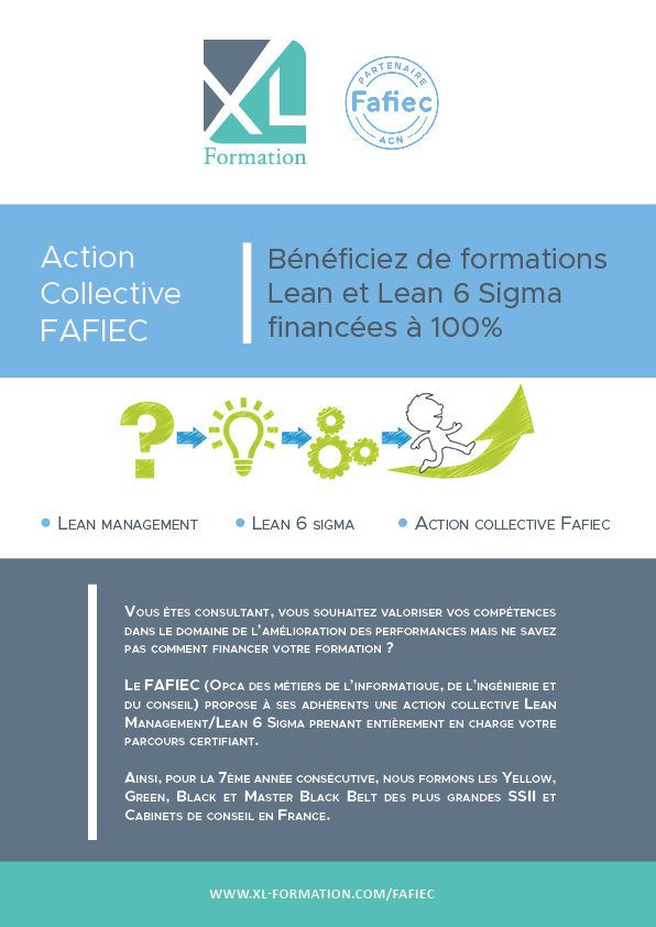 Action collective Lean/Lean 6 Sigma Fafiec